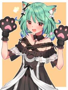 Rating: Safe Score: 14 Tags: animal_ears dress gothic_lolita hololive lolita_fashion mi_taro333 nekomimi uruha_rushia User: Mr_GT