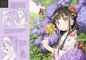 Rating: Safe Score: 19 Tags: 5_nenme_no_houkago kantoku kurumi_(kantoku) nagisa_(kantoku) seifuku sketch yukata User: Maxpayness
