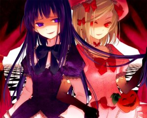 Rating: Safe Score: 13 Tags: dress frederica_bernkastel lambdadelta morphine umineko_no_naku_koro_ni User: Radioactive