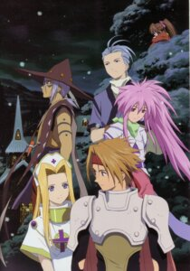 Rating: Safe Score: 3 Tags: arche_klein chester_barklight claus_lester cless_alvein mint_adnade suzu_fujibayashi tales_of tales_of_phantasia User: Radioactive