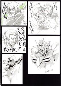 Rating: Questionable Score: 8 Tags: 00_gundam armor breast_grab breasts domon_kasshu fool's_art_gallery g_gundam gundam gundam_build_fighters gundam_rose homare iori_rinko master_asia mecha monochrome nipples no_bra ral-san shirt_lift sweater User: Radioactive
