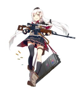 Rating: Safe Score: 50 Tags: garter girls_frontline gun huanxiang_heitu pantsu tagme thighhighs uniform User: WtfCakes