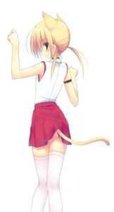 Rating: Questionable Score: 28 Tags: animal_ears ite_fuji nekomimi tail thighhighs User: inumimi.7