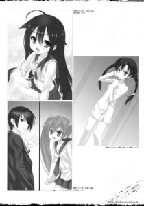 Rating: Questionable Score: 12 Tags: hidan_no_aria kobuichi monochrome seifuku towel User: Twinsenzw