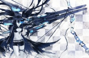 Rating: Safe Score: 59 Tags: 2d 4hands bikini_top black_rock_shooter black_rock_shooter_(character) bondage cleavage gun sword vocaloid User: Radioactive