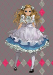 Rating: Safe Score: 17 Tags: alice alice_in_wonderland dress pisuke User: Radioactive
