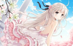 Rating: Safe Score: 236 Tags: dress kasugano_sora nyanya sphere wallpaper yosuga_no_sora User: Hatsukoi