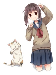 Rating: Safe Score: 42 Tags: neko punchiki seifuku User: Radioactive