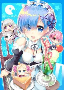 Rating: Safe Score: 48 Tags: beatrice_(re_zero) chibi cleavage ekakibito emilia_(re_zero) maid neko pack_(re_zero) ram_(re_zero) re_zero_kara_hajimeru_isekai_seikatsu rem_(re_zero) User: Mr_GT