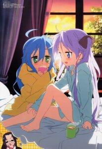 Rating: Questionable Score: 51 Tags: dress_shirt hiiragi_kagami horiguchi_yukiko izumi_konata lucky_star User: MDGeist