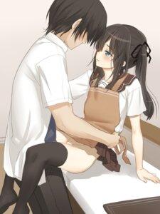 Rating: Explicit Score: 73 Tags: cum kyoudai_no_jouji_jijou nopan osaru seifuku sex shino_(kyoudai_no_jouji_jijou) thighhighs yuuen-dou User: Roadi