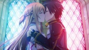 Rating: Safe Score: 18 Tags: asuna_(sword_art_online) game_cg kirito sword_art_online tagme User: RyuZU