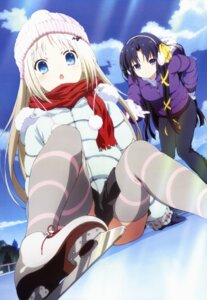 Rating: Safe Score: 59 Tags: anno_masato ice_skating kurugaya_yuiko little_busters! noumi_kudryavka thighhighs User: kousuke1021