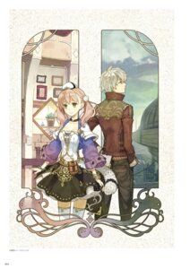 Rating: Safe Score: 16 Tags: atelier atelier_escha_&_logy cleavage digital_version escha_malier hidari jpeg_artifacts logix_ficsario thighhighs User: Shuumatsu