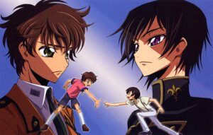 Rating: Safe Score: 8 Tags: code_geass kimura_takahiro kururugi_suzaku lelouch_lamperouge male User: Aurelia