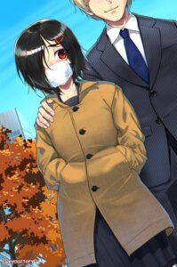 Rating: Questionable Score: 9 Tags: business_suit ryou@ryou seifuku User: Mr_GT