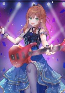 Rating: Safe Score: 23 Tags: bang_dream! guitar ien_4 imai_lisa pantyhose skirt_lift User: Dreista
