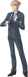 Rating: Safe Score: 4 Tags: flyable_heart hikawa_kyouichirou ito_noizi male megane User: fireattack