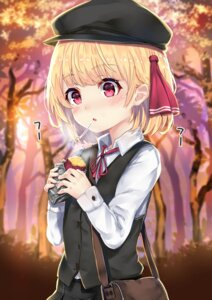 Rating: Safe Score: 25 Tags: rumia seifuku touhou wowoguni User: Mr_GT