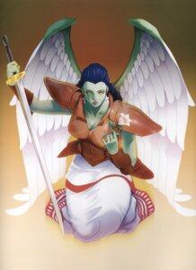 Rating: Safe Score: 4 Tags: angel gabriel_(megaten) megaten sword tagme wings User: Radioactive