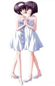 Rating: Safe Score: 37 Tags: dress ef_~a_fairytale_of_the_two~ eyepatch nanao_naru shindou_chihiro shindou_kei summer_dress User: SubaruSumeragi