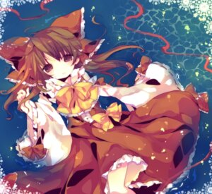 Rating: Safe Score: 15 Tags: ana hakurei_reimu touhou User: Nekotsúh