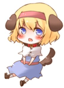 Rating: Safe Score: 6 Tags: alice_margatroid animal_ears chibi inumimi okannigeru tail touhou User: Radioactive