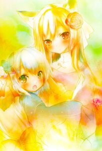 Rating: Safe Score: 14 Tags: animal_ears kitsune saeki_thoma User: fairyren