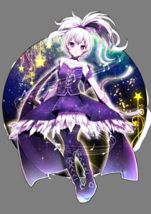 Rating: Safe Score: 50 Tags: dress flower_(vocaloid) suzuki_moeko thighhighs transparent_png vocaloid User: mash