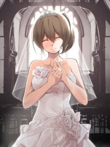Rating: Safe Score: 39 Tags: dress kaga_(kancolle) kantai_collection nanaku_teiru wedding_dress User: Mr_GT