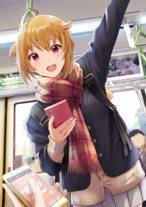 Rating: Safe Score: 26 Tags: ibuki_tsubasa seifuku shiokazunoko sweater the_idolm@ster the_idolm@ster_million_live! User: yanis
