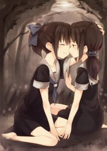 Rating: Safe Score: 52 Tags: kyuri seifuku yuri User: Radioactive