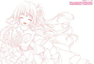 Rating: Safe Score: 14 Tags: dress karomix karory line_art monochrome User: kiyoe