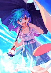 Rating: Safe Score: 33 Tags: dress harrymiao heterochromia see_through tatara_kogasa touhou umbrella User: Mr_GT