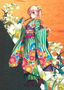 Rating: Safe Score: 184 Tags: fixed heels kimono misaki_kurehito saenai_heroine_no_sodatekata sawamura_spencer_eriri User: Pekie