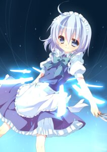 Rating: Safe Score: 10 Tags: akai izayoi_sakuya maid touhou User: charunetra