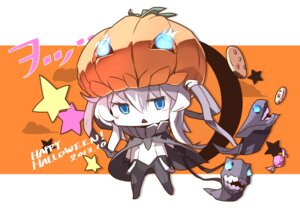 Rating: Safe Score: 16 Tags: chibi halloween kantai_collection pomon_illust wo-class_aircraft_carrier User: Radioactive
