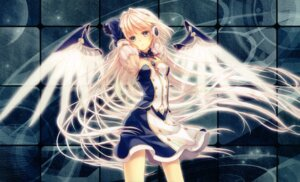 Rating: Safe Score: 65 Tags: crown fixed headphones wings yashiro_seika User: solaris_navi