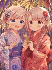 Rating: Safe Score: 21 Tags: hisakawa_hayate hisakawa_nagi kimono the_idolm@ster the_idolm@ster_cinderella_girls yata_(yatao_zzz) User: leotard