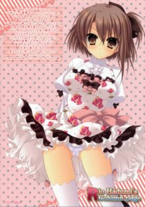 Rating: Questionable Score: 9 Tags: dress hazumi_rio pantsu screening thighhighs User: Share