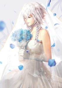 Rating: Safe Score: 21 Tags: dantewontdie dress izayoi_sakuya touhou wedding_dress User: Mr_GT
