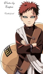 Rating: Safe Score: 3 Tags: gaara male naruto signed vector_trace User: Davison