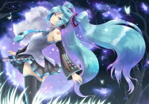 Rating: Safe Score: 16 Tags: hatsune_miku tani_yuuji thighhighs vocaloid User: compa2010