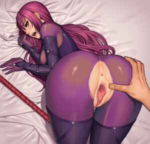 Rating: Explicit Score: 58 Tags: anus ass ass_grab bodysuit fate/grand_order lasterk nopan pussy scathach_(fate/grand_order) torn_clothes uncensored weapon User: BattlequeenYume