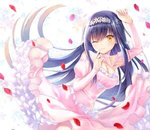 Rating: Safe Score: 26 Tags: cleavage dress key kushima_kamome na-ga skirt_lift summer_pockets User: marechal