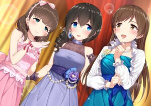 Rating: Safe Score: 25 Tags: dress go-1 nitta_minami sagisawa_fumika sakuma_mayu the_idolm@ster the_idolm@ster_cinderella_girls User: Mr_GT