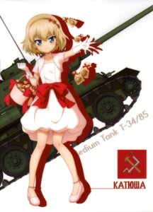 Rating: Safe Score: 31 Tags: dress girls_und_panzer heels katyusha silhouette User: drop