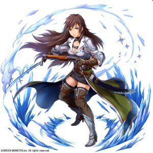 Rating: Safe Score: 16 Tags: armor cleavage gun heels sakiyamama sword thighhighs User: mash