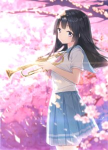 Rating: Safe Score: 47 Tags: fanqie_jidan hibike!_euphonium kousaka_reina seifuku User: Mr_GT