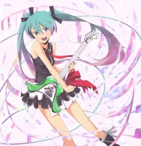 Rating: Safe Score: 24 Tags: guitar hatsune_miku headphones sevun vocaloid User: animeprincess